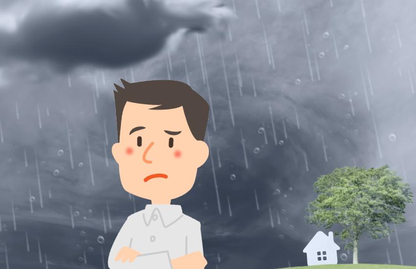 カースル テント 雨
